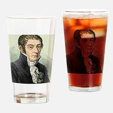 Alessandro Volta, Italian physicist Drinking Glass
