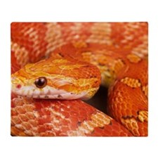 Corn Snake  Throw Blanket