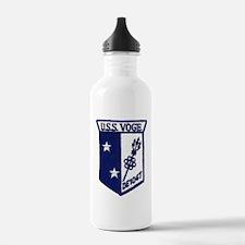 uss voge de patch tran Water Bottle