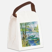 Van Gogh Fishermen and Boats Canvas Lunch Bag