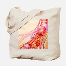 Artwork of chronic obstructive pulmonary  Tote Bag