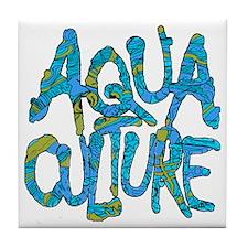 AQUA CULTURE CAMO Tile Coaster