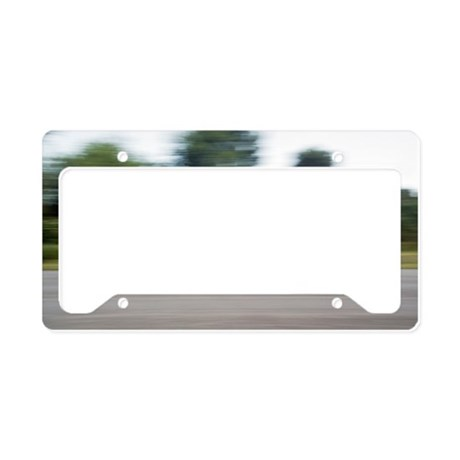Jester electric car License Plate Holder