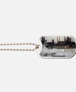 Iron and steel works Dog Tags