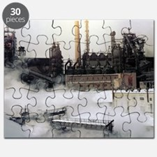 Iron and steel works Puzzle