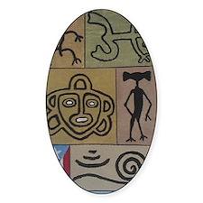 Taino Petroglyphs Decal