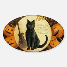 Vintage Merry Halloween Decal