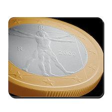 Italian one euro coin, SEM Mousepad