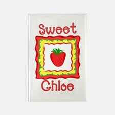Sweet Chloe Rectangle Magnet