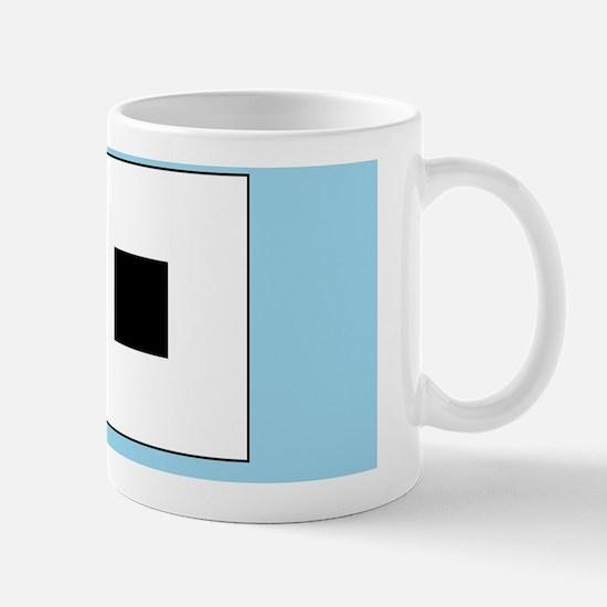 Irradiation illusion Mug
