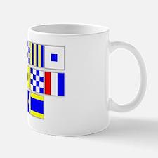 Kings Point DAD Singnal Flags Mug
