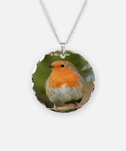 Garden Robin Necklace