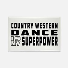 Country Western Dance is my superpower Rectangle M
