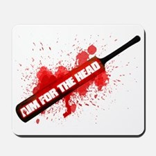 Zombie Aim For The Head Shaun of the Dea Mousepad