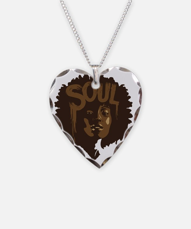 Soul Fro Necklace Heart Charm