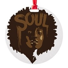 Soul Fro Ornament