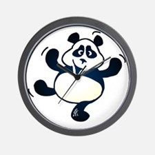 Dancing panda Wall Clock
