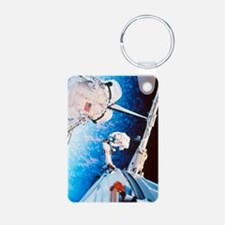 ISS space walk Keychains