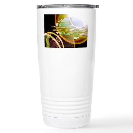 Interstellar spaceship Stainless Steel Travel Mug