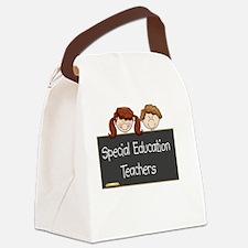 Teachers Special Education Canvas Lunch Bag