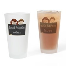 Teachers Special Education Drinking Glass