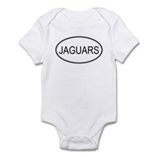 Oval Design: JAGUARS Infant Bodysuit