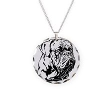Dogue De Bordeaux. Necklace