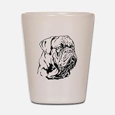 Dogue De Bordeaux. Shot Glass