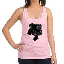 Staffordshire Bull Terrier Racerback Tank Top