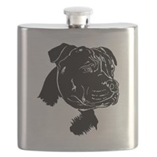 Staffordshire Bull Terrier Flask