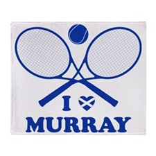 Love Murray (blwh for lights) Throw Blanket
