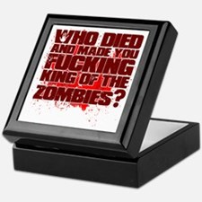 King of the Zombies Keepsake Box