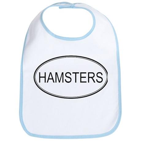 Oval Design: HAMSTERS Bib