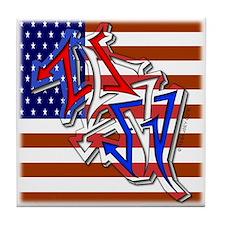 W1LD5TYLE USA - Tile Coaster