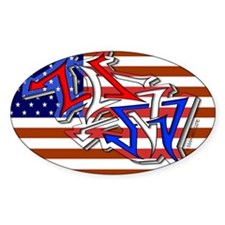 W1LD5TYLE USA - Oval Decal