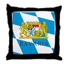 Bavaria Coat Of Arms Throw Pillow