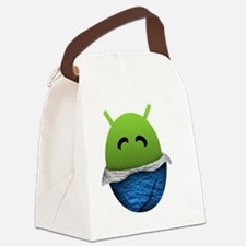 Official Android Unwrapped Gear Canvas Lunch Bag