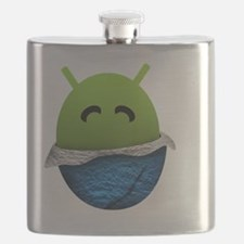 Official Android Unwrapped Gear Flask
