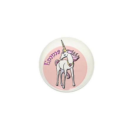 Emma Unicorn Mini Button