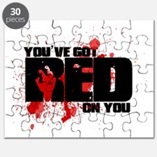 Youve got red on you Shaun of the Dead Puzzle