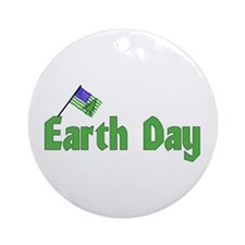 Celebrate Earth Day Ornament (Round)