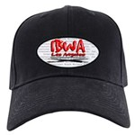 IBWA red Black Cap