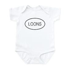 Oval Design: LOONS Infant Bodysuit