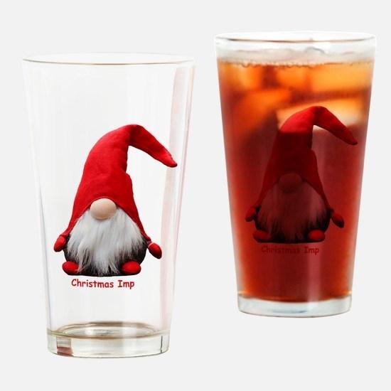 Christmas Imp Drinking Glass