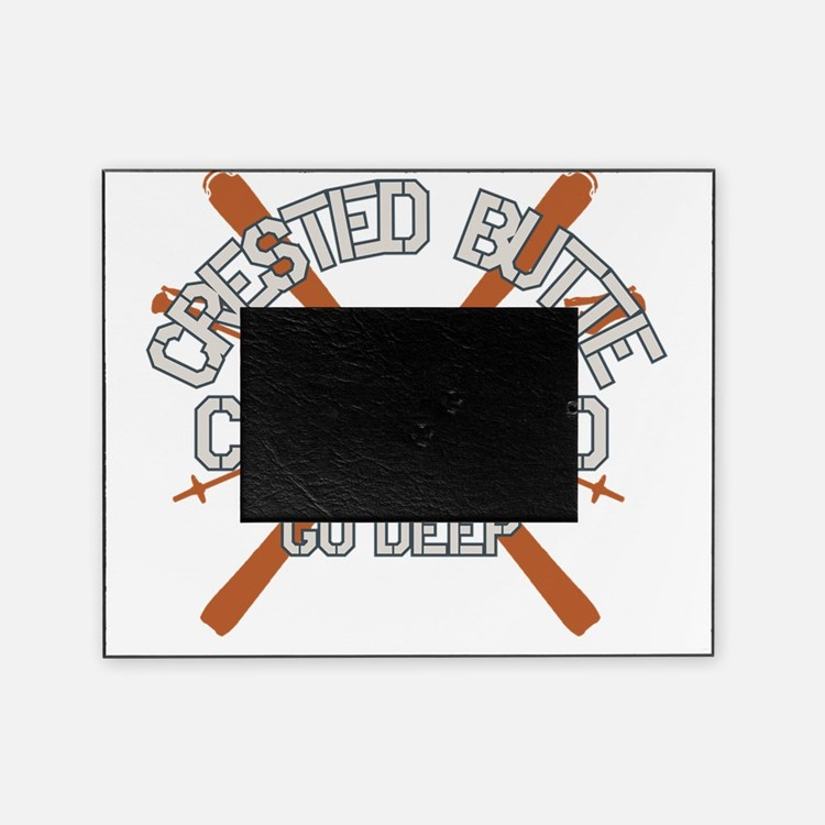 Go Big Crested Butte Picture Frame