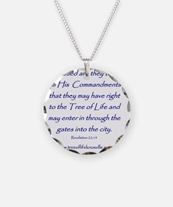 Tree of Life Knoxville Verse Necklace