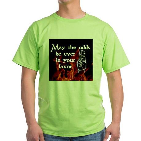 Hunger Games Salute Green T-Shirt