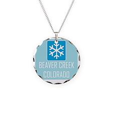 Beaver Creek Snowflake Necklace