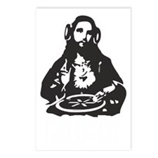 God is a Dj Postcards (Package of 8)