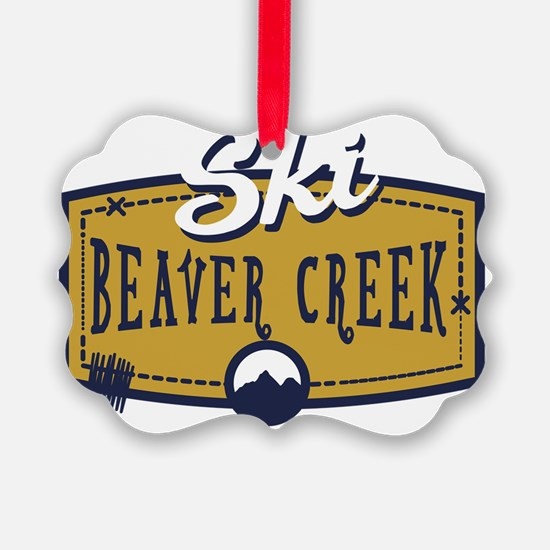 Ski Beaver Creek Patch Ornament